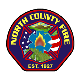 North County Fire patch