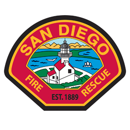 San Diego FD patch