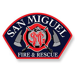 San Miguel FD patch